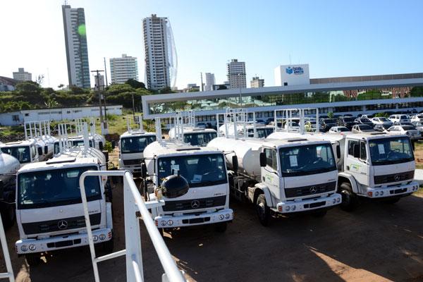 Primeiros 18 carros-pipa serão entregues amanhã (23). A expectativa é que ajuda semelhante chegue a 149 cidades do Rio Grande do Norte