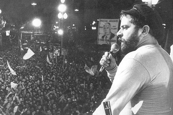 Participação de Lula em comícios das Diretas era seguida de perto por agentes do SNI