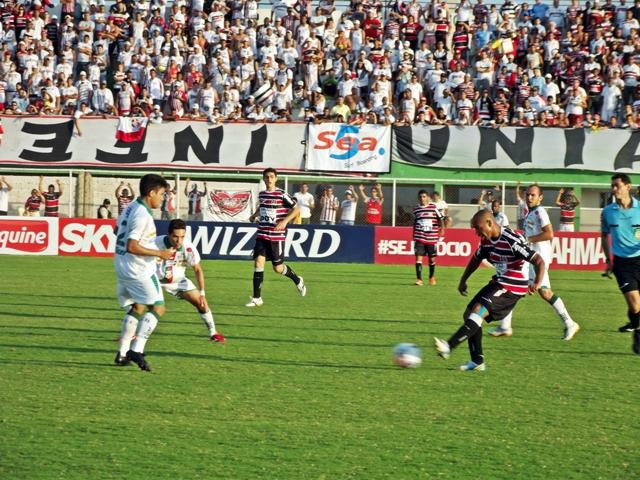 O Baraúnas chegou à sua 12ª derrota em 17 jogos na Série C do Campeonato Brasileiro está rebaixado para a Série D de 2014