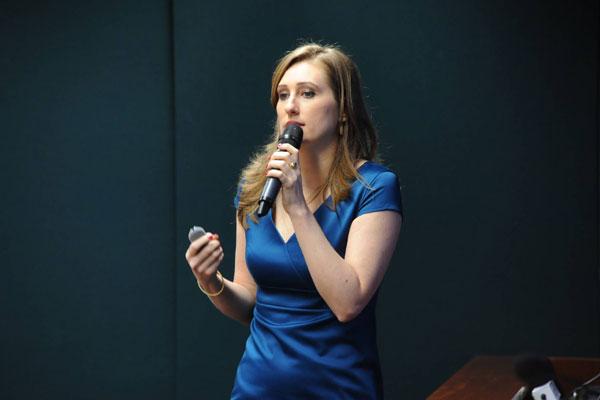 Leila Posenato coordenou estudos sobre a Lei Maria da Penha