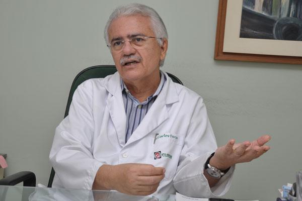 Carlos Faria, presidente da Sociedade Brasileira de Cardiologia no RN