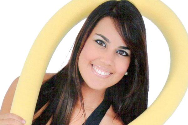 Aline Melo, 26, é personal trainer e cuida do coração