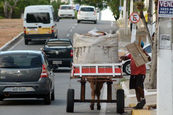 Em um ano, a Prefeitura deve cadastrar os carroceiros que circulam dentro de Natal