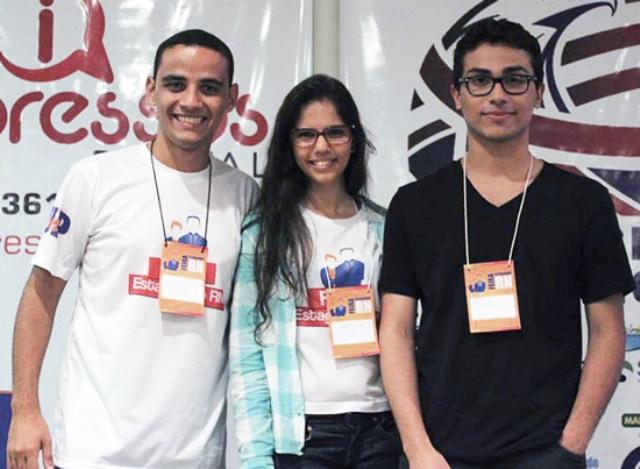 Tiago, Katyanna e Kauê criaram dois mecanismos de busca que fazem sucesso no Rio Grande do Norte