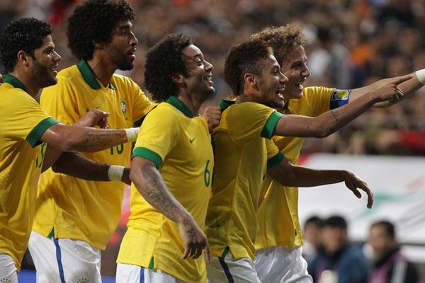 Sem jogar as Eliminatórias Sul-Americanas, chances de pontuar da Seleção Brasileira são menores que as demais