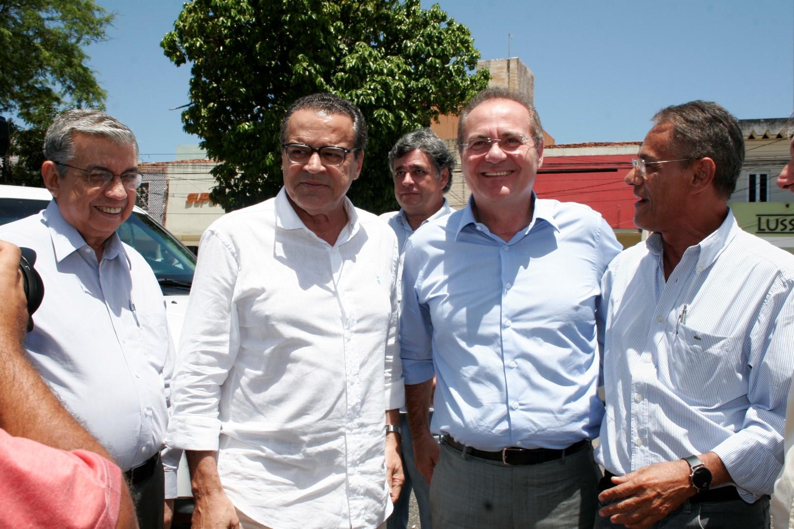 Henrique e Renan Calheiros garantiram que vão dar celeridade às matérias no Congresso Nacional