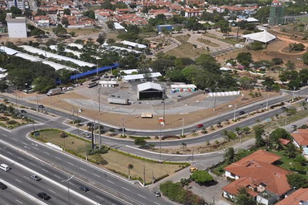 Cientec deste ano ocupa 98 por cento de toda a área de eventos do campus central da UFRN, em Lagoa Nova