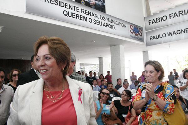 Rosalba Ciarlini lamenta que a transferência da União ficou R$ 50 milhões abaixo do estimado