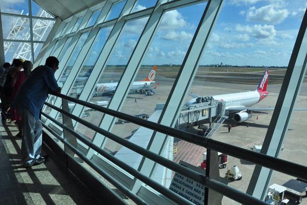 Infraero mostra queda de 12,80 por cento no total de aeronaves chegando e partindo do aeroporto do RN