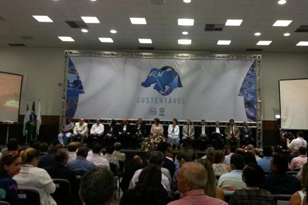 Programa RN Sustentável foi lançado hoje, na Escola de Governo do Estado, no Centro Administrativo