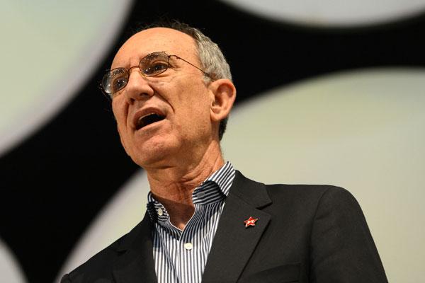 Presidente nacional petista, Rui Falcão deixou claro que prioridade é candidatura ao Senado