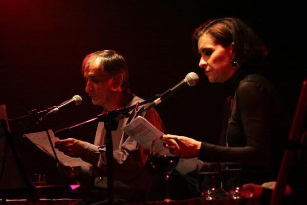 Marina e Cícero pontuam canções como histórias pessoais e a frutífera parceria música e letra