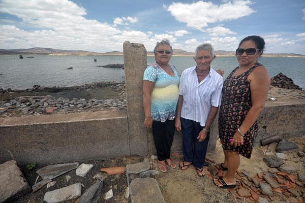 Antônio da Silva, de 93 anos,retornou com a família após 30 anos