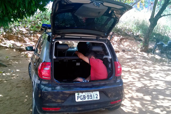 Marcos da Silva Santos, preso em Touros, ficou mais de um dia dentro da mala do carro da polícia sem comer nem beber direito
