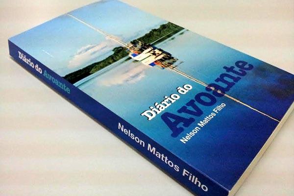 Velejador Nelson Mattos Filho lança hoje o livro Diário do Avoante