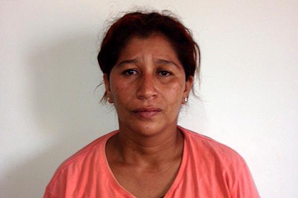 Francisca Fátima Afonso da Silva foi presa na tarde de ontem