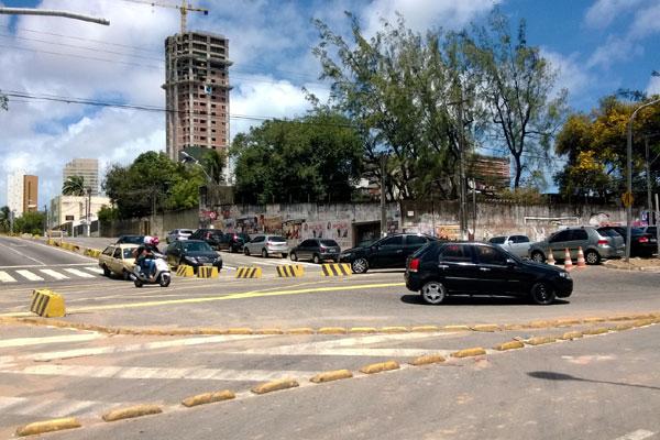 Obras do túnel serão no cruzamento das avenidas Lima e Silva e Romualdo Galvão
