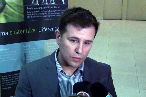 Danilo Carvalho, arquiteto da Arena das Dunas