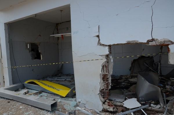 Agência do Banco do Brasil em São Miguel do Gostoso foi explodida