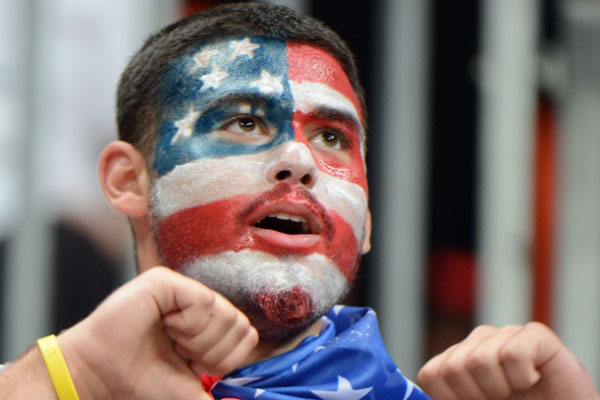 Os norte-americanos e seu tradicional patriotismo são esperados