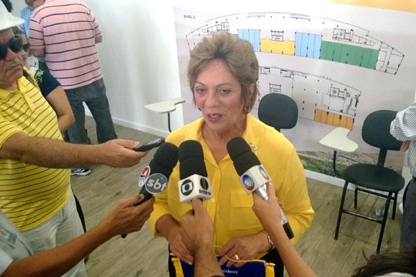Governadora citou a importância da Arena das Dunas para a Copa