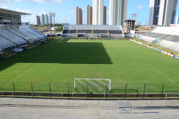 O gramado do Frasqueirão vai passar por uma ampla reforma para receber as seleções que virão disputar jogos do Mundial em Natal