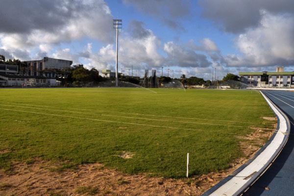 O gramado do campo da UFRN foi completamente reformulado