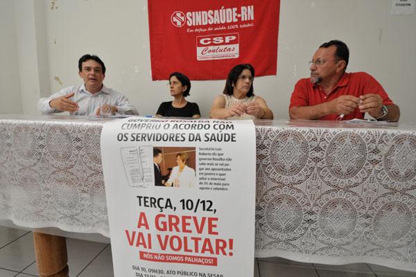 Sindicalistas acusam Governo de descumprir os acordos firmados