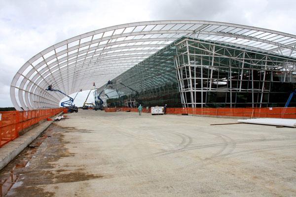 Aeroporto que está sendo construído em São Gonçalo do Amarante terá capacidade para receber 4 milhões de passageiros por ano