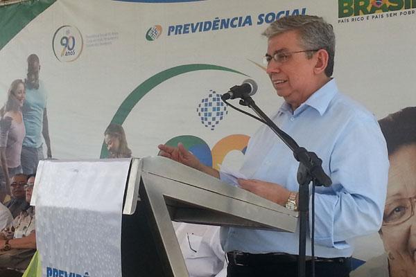 Ministro Garibaldi Filho preside solenidade de inauguração de agência da Previdência Social no município de Pilar, em Alagoas