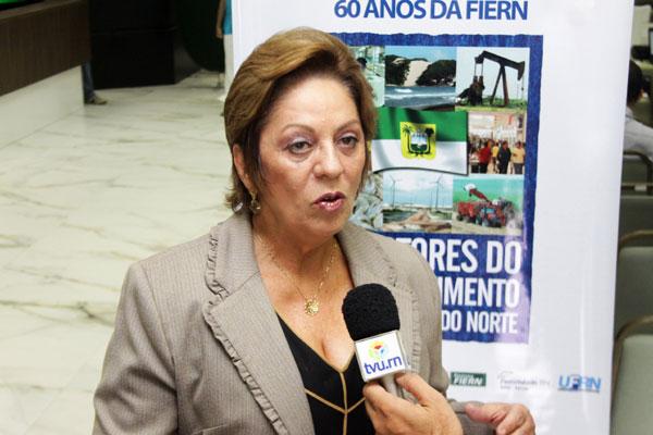 Rosalba Ciarlini participa de seminário sobre o desenvolvimento da indústria do Rio Grande do Norte
