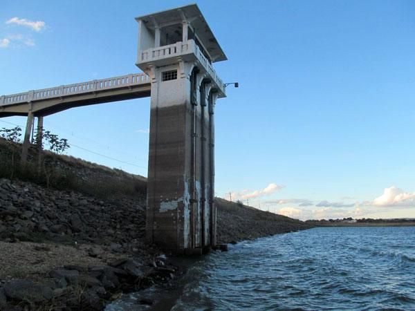 Em Caicó, o volume de água do Itans equivale a menos de 13% da sua capacidade. É um dos reservatórios em pior situação no RN
