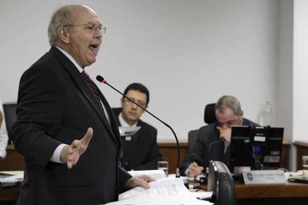 Advogado da Portuguesa, João Zanforlim, não convenceu os auditores