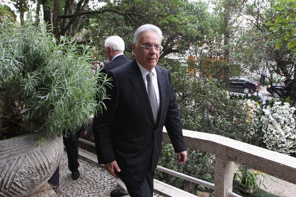 FHC considera culto a Joaquim Barbosa como sinal de que o país ainda espera por um salvador