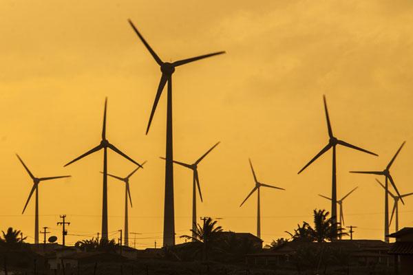 Parques eólicos estão, segundo dados do Idema, em terceiro lugar no ranking de maior demanda