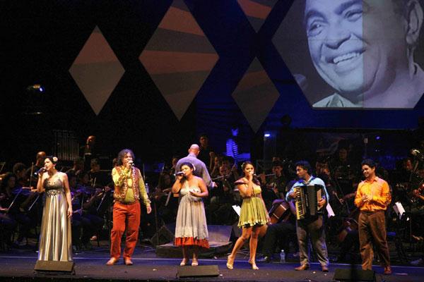 Espetáculo Parcerias Sinfônicas do Sesc-RN, que homenageou o centenário de Luiz Gonzaga, também foi exibido pelo canal especializado em cultura brasileira