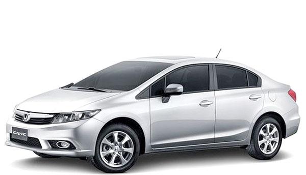 O automóvel sedã Honda Civic reassume a liderança do seu segmento, com 60.970 unidades comercializadas no país