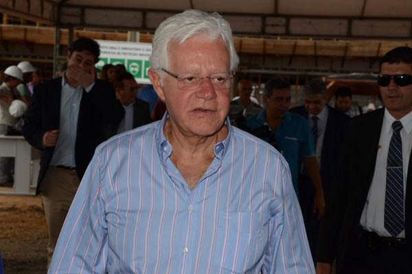 Ministro Moreira Franco está satisfeito com andamento das obras em São Gonçalo do Amarante