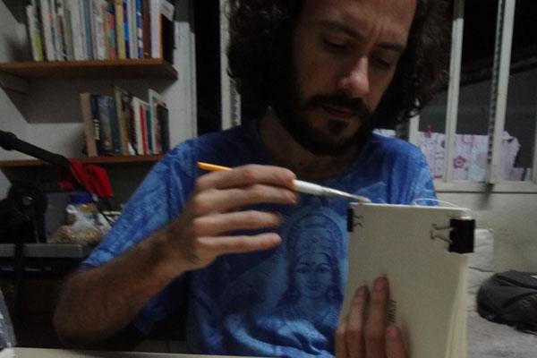 Tradutor e artesão, Márcio Simões criou para vários autores