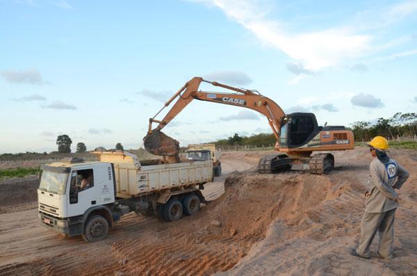 Obras do acesso devem ser concluídas até o início de abril, antes da finalização do aeroporto