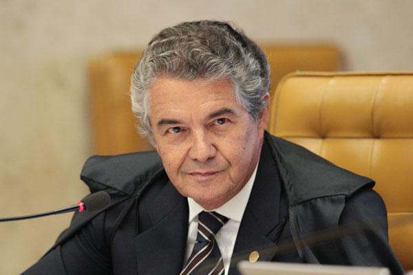 Marco Aurélio acata o pedido para distribuição das verbas