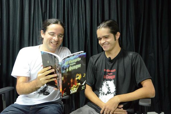 Apresentada em capítulos durante o ano de 2013, novela gráfica em quadrinhos que conta a saga de Hugo Ribeiro, ganha edição completa. Marcos Guerra e Leander Moura assinam o trabalho e autografam hoje, na Livraria Nobel