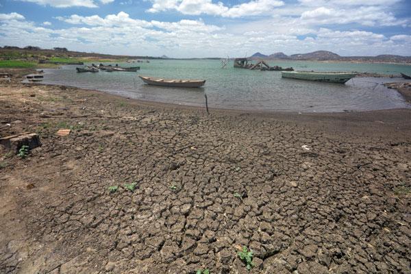 Barragem Armando Ribeiro, maior reservatório do Rio Grande do Norte, tem água para alimentar adutoras até o final do ano