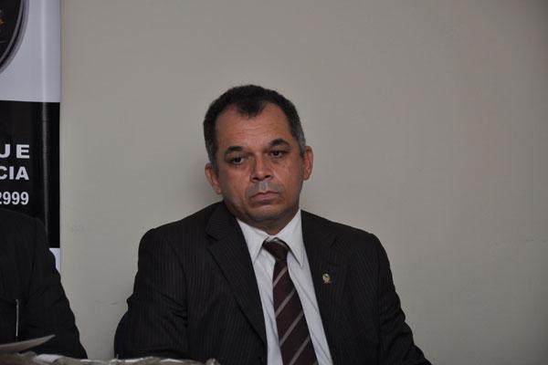 Segundo o MP, o delegado Odilon Teodósio (foto) foi vítima de armação