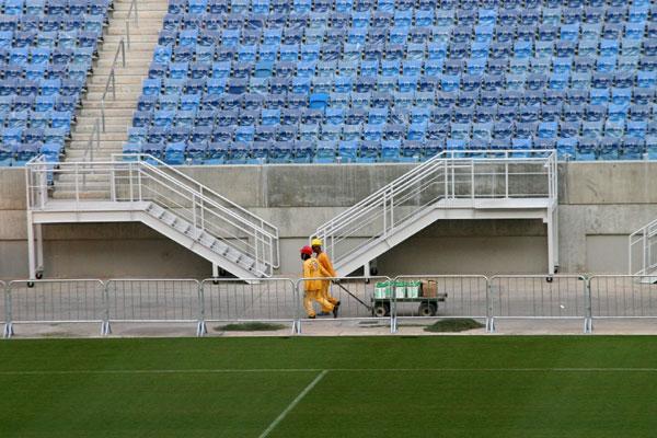 Na comparação entre custos/assentos, Arena das Dunas está entre as mais baratas. Em março, Governo começa a instalar arquibancada móvel: 11.744 lugares
