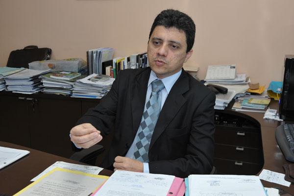 Controlador geral do Estado, José Anselmo de Carvalho