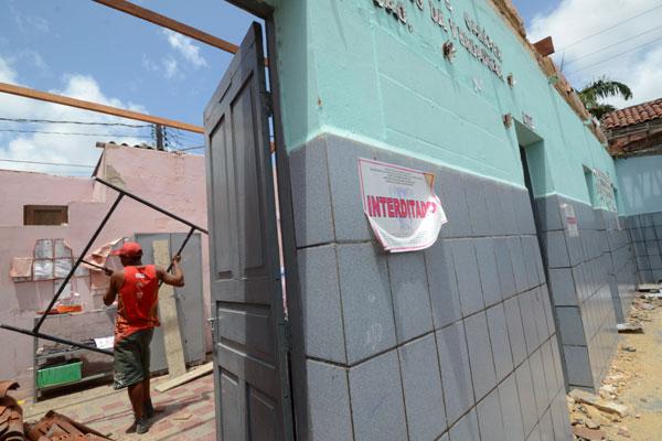 Obras da Escola Estadual Cônego Monte não serão concluídas antes do início das aulas