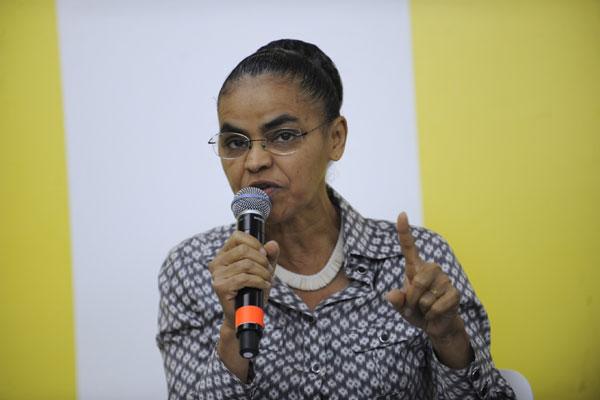 Marina Silva quer assegurar o registro na Justiça Eleitoral