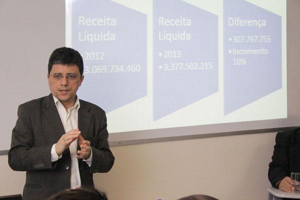 Anselmo Carvalho afirma que receitas crescem em um ritmo menor do que as despesas