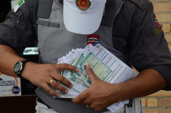 Até o momento, mais de 400 CHNs já foram recolhidas nas blitze
